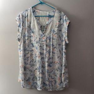 Markley maternity blouse